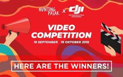 Hunting Pasar x DJI Experience Store Video Competition,  Here Are The Winners!